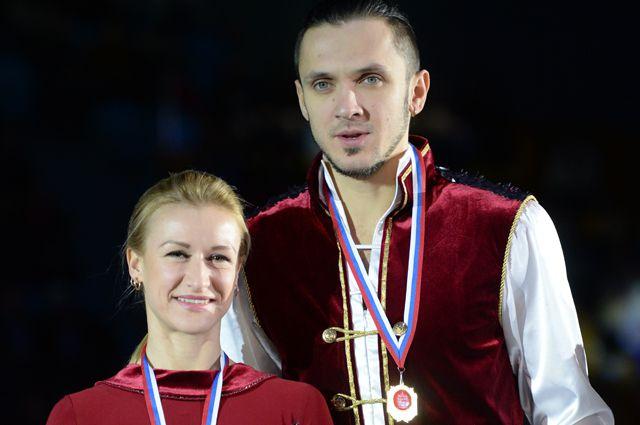 Татьяна Волосожар и Максим Траньков.
