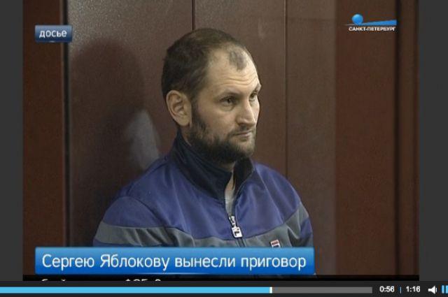 Сергей Яблоков на оглашении приговора.