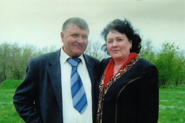 Одни из призёров конкурса - семья Ткачёвых, п. Орловский.