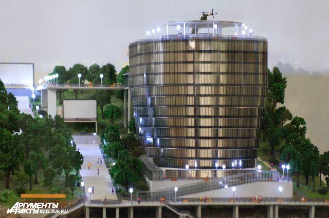 Проект Апарт-отеля в Светлогорске.
