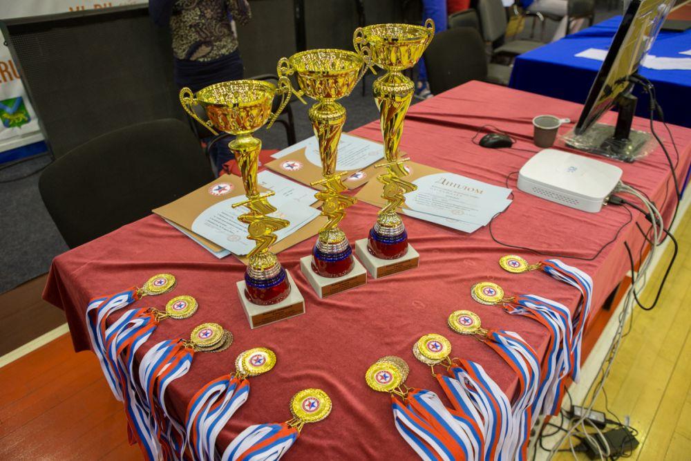 Приморские самбисты взяли командное золото.
