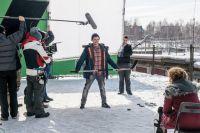 Сцену для фильма «Лёд» снимали в иркутском дворе.