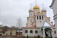 Храм Сошествия Святого Духа Зачатьевского женского монастыря, который был освящен Патриархом Московским и Всея Руси Кириллом.