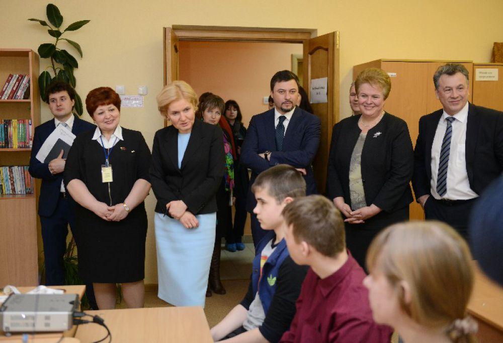 Вице-премьер отметила важность работы таких тренеров, как Елена Горлова.