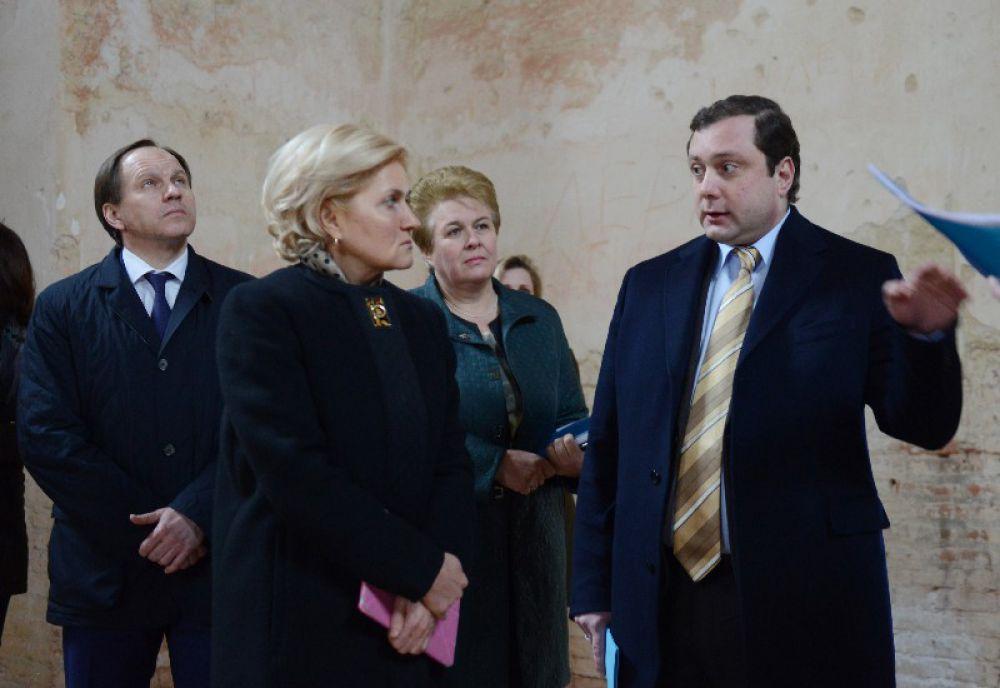 Первым пунктом в программе визита стало Талашкино.
