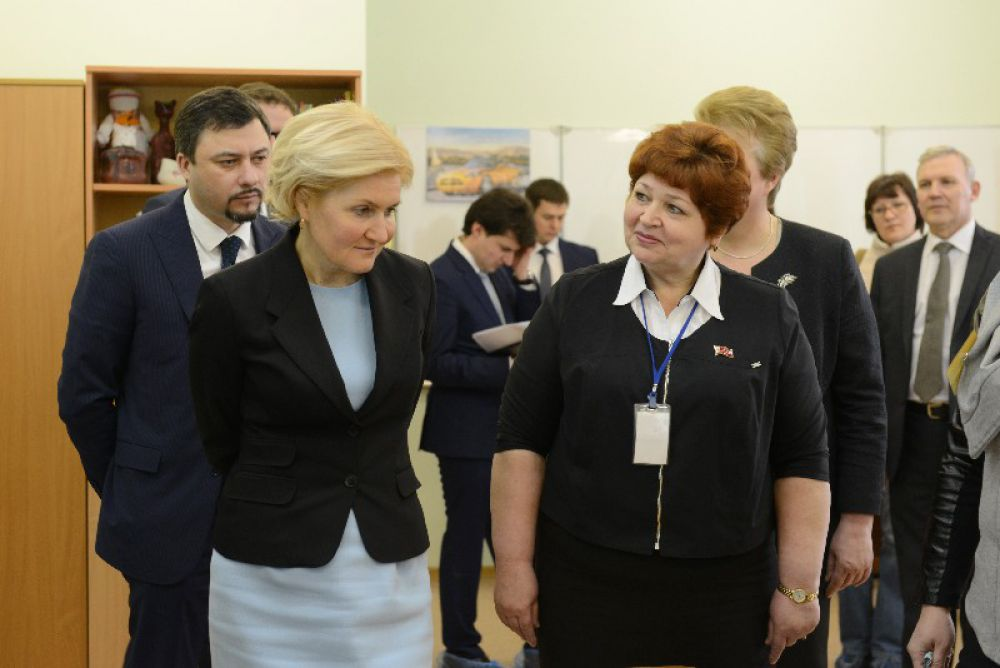 Смоленский реабилитационный центр «Вишенки» стал следующей остановкой на пути вице-премьера.