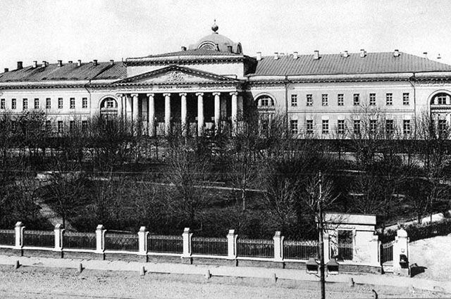 Первая Градская больница. Фотография 1900-х гг.
