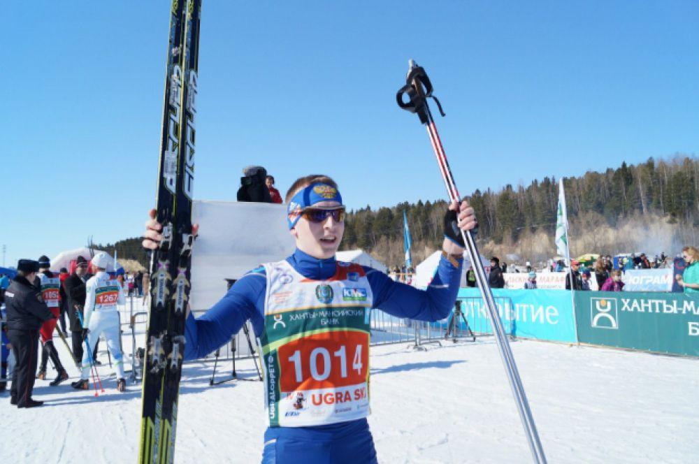 17-летний хантымансиец Константин Мочалов победил на дистанции 25 километров.