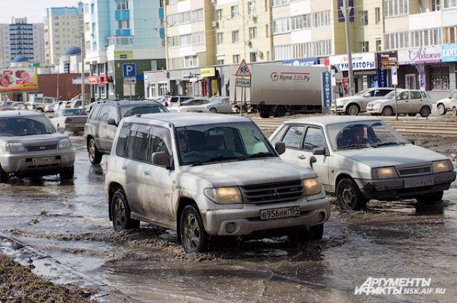 Массовые аварии происходили в Новосибирске.