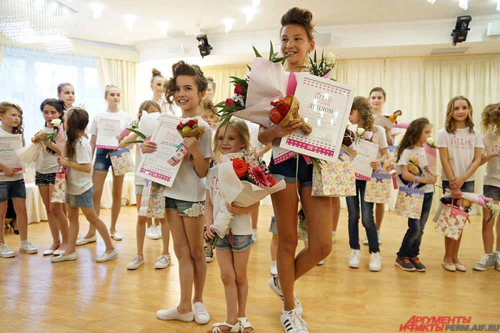 Победительницы регионального конкурса отправятся на финал Little top model of Russia, который пройдёт в Москве с 21 по 25 августа.