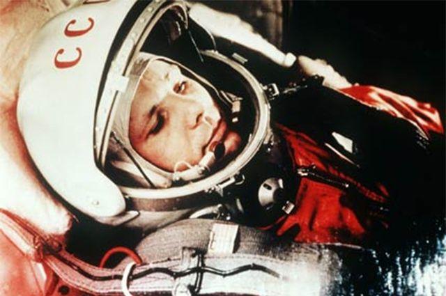 Праздничная акция приурочена к 55-летию со дня полёта Юрия Гагарина.