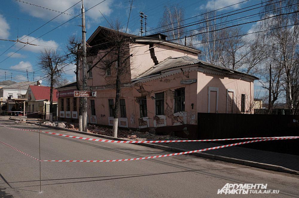 Восстановить дом после разрушений не удалось.