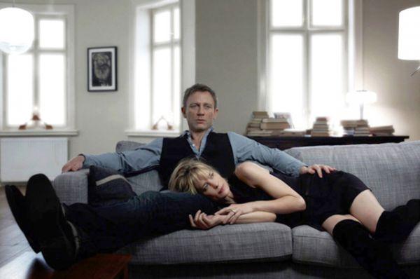 В фильме по роману шведского писателя Стига Ларссона «Девушка с татуировкой дракона» (2011) Райт сыграла Эрику Бергер, подругу главного героя, роль которого исполнил Дэниэл Крейг.