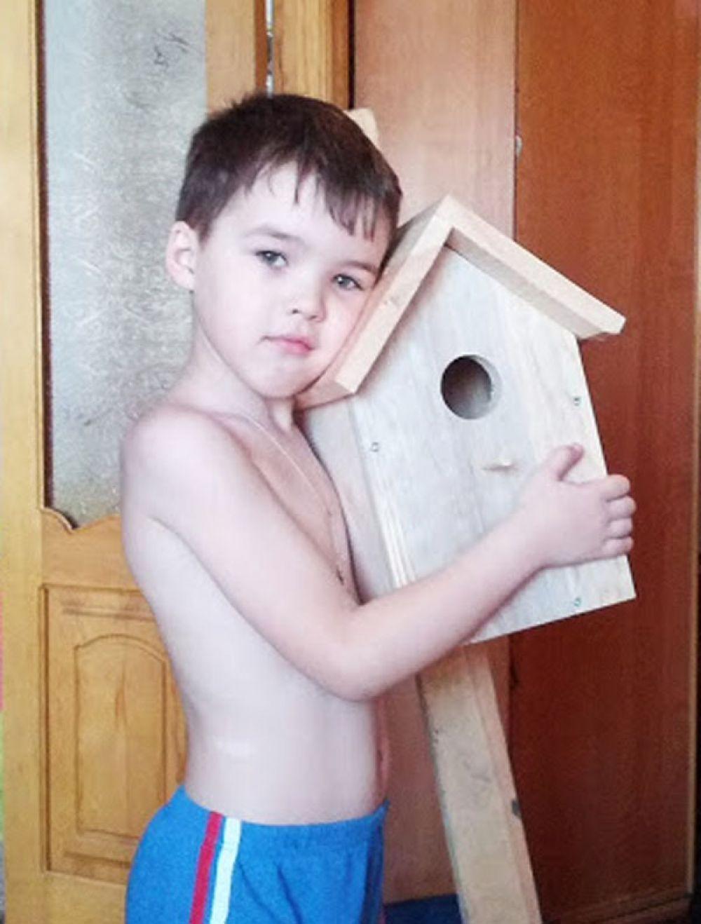 Участник №7. Кирилл Ханович, 6 лет