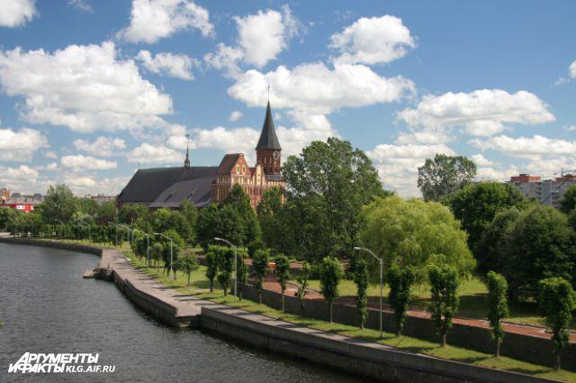 Калининград занял 6 место в рейтинге популярных у туристов городов на майские праздники.