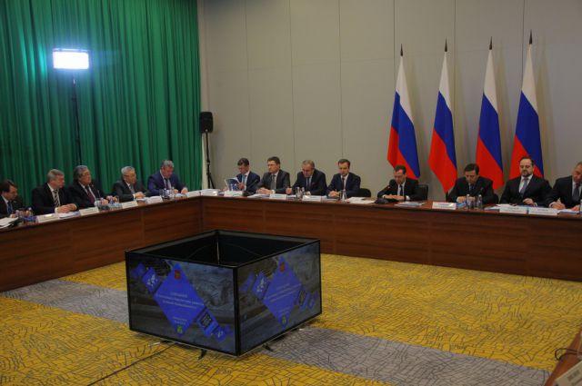 Рабочая встреча в Новокузнецке.