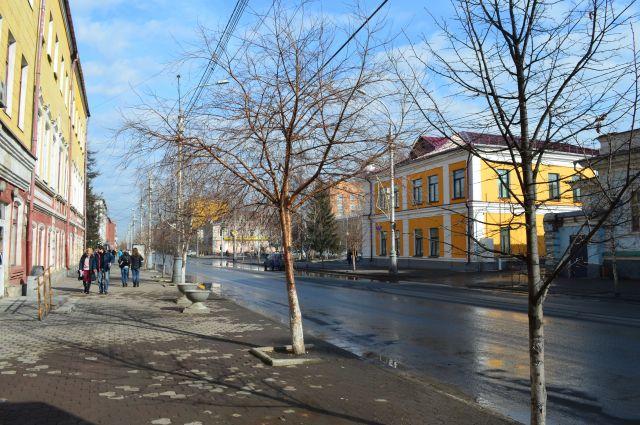 центр Красноярска