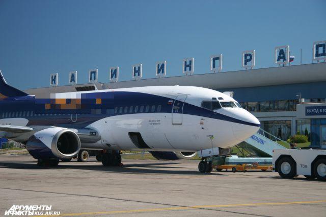 40% туристов прибывают в Калининградскую область на самолетах.