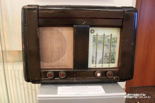 Радиола «Урал 50». На неё принимался сигнал, поданный с первого искусственного спутника Земли в 1957 г.