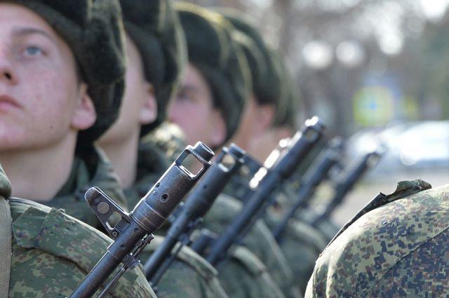 Вооруженные силы РФ.