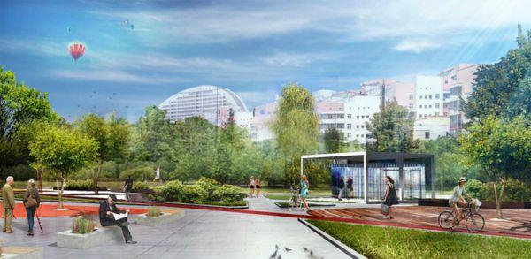 На месте пустого Ходынского поля к 2017 году появится парк площадью 24,7 гектара. Его территорию поделят на пять зон: главную площадь, зону тихого отдыха с городским садом, зону спорта и детских площадок, пешеходный бульвар и транзитную зону у новой станции метро.