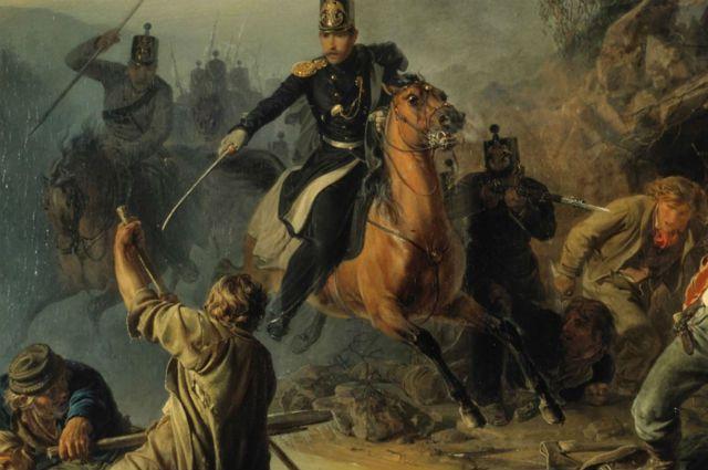 С этой картины симбирянина Василия Худякова началась всемирно знаменитая Третьяковская галерея.