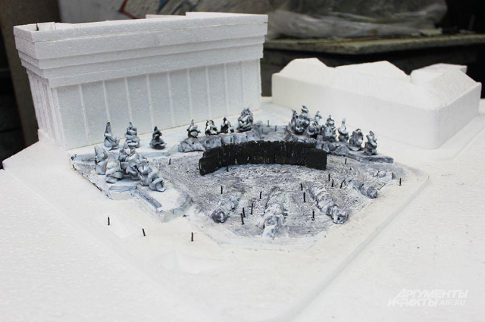 И даже поверхность на самой площади Сахарова будет уникальна – выложена из камней, а на подходе к самой «бронзе», возможно, появятся камни из мест заключения.