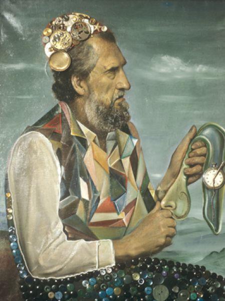 Репродукция картины «Мудрость и время».