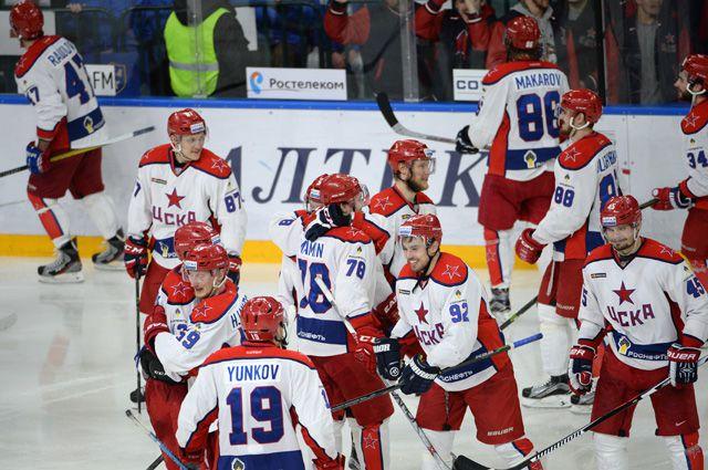 ХК ЦСКА в 1/2 финала плей-офф Кубка Гагарина