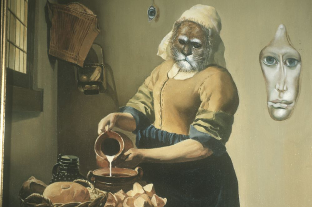Репродукция картины «Сон Вермедея Вельфского, когда он видел себя кошкой».