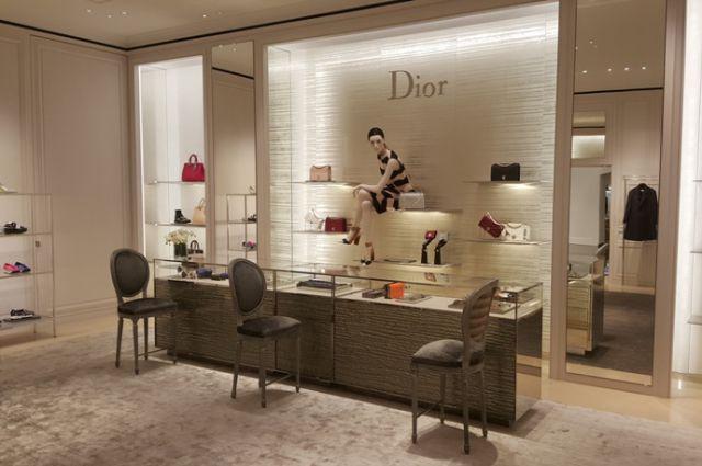 Официальный корнер Dior в Нижнем Новгороде в галерее «Лакшери Стор».