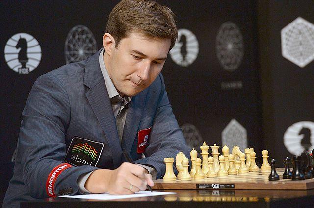 Шахматист Сергей Карякин.