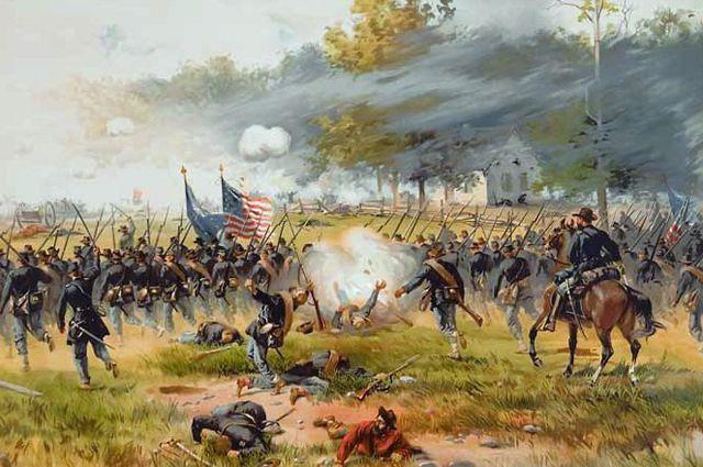 Сражение при Энтитеме. 1862 год.