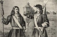 Обер-офицер и штаб-офицер лейб-гвардии Преображенского полка с 1700 по 1732 год.