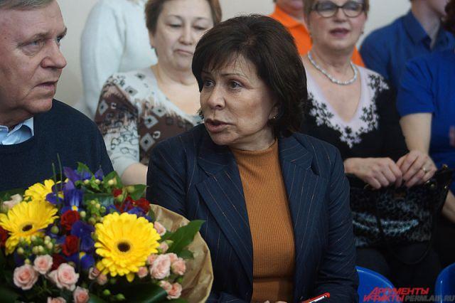 Легендарная совесткая фигуристка Ирина Роднина.