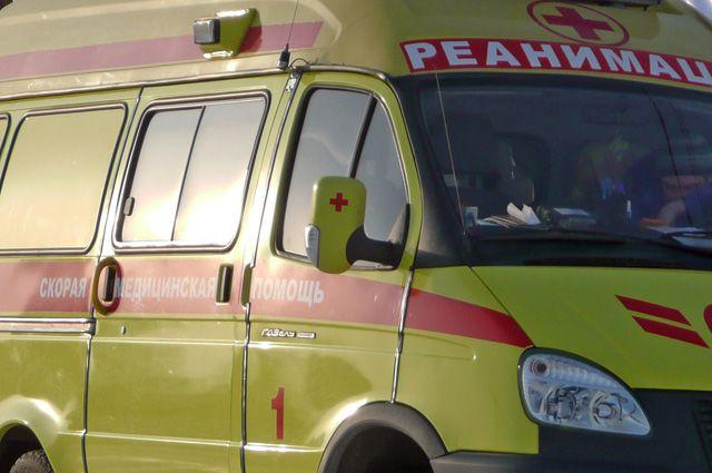 Ребенка увезли в больницу