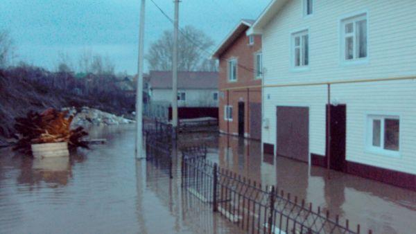 В зону подтопления попали 5 домов