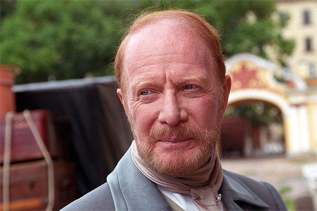 Альберт Филозов в роли барона Корфа в сериале «Бедная Настя», 2003 год.