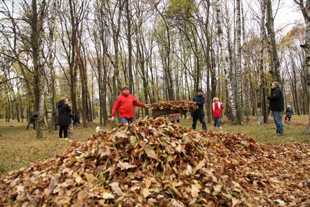 В этот день планируется вывезти около 5 000 кубометров мусора.