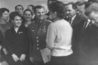 Гагарин в Казани, 1967 год.