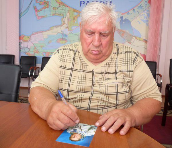 Владимир Ляхов родился в городе Антрацит Луганской области