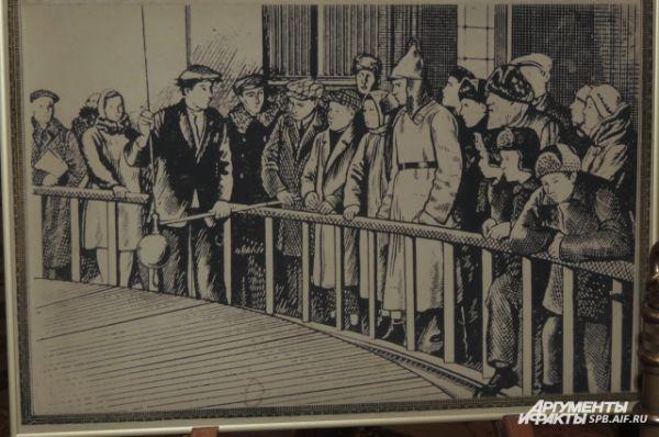 Впервые маятник Фуко был представлен в Исаакиевском соборе в 1931 году.
