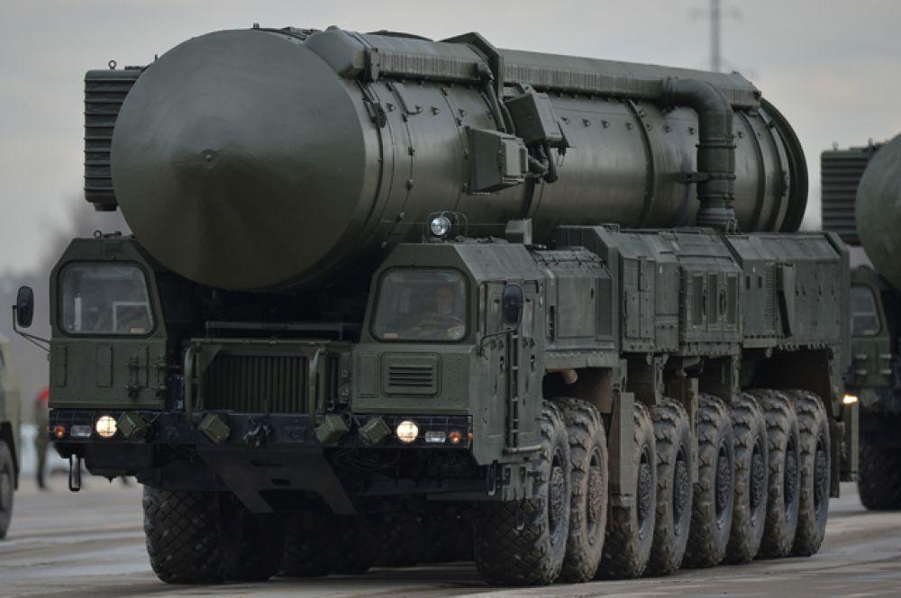 Межконтинентальная баллистическая ракета «Ярс».
