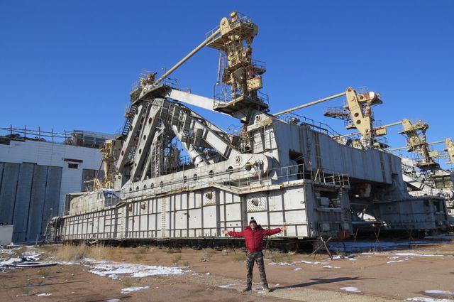 Транспортировочная платформа космического корабля «Буран»