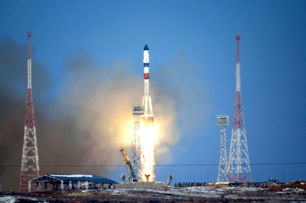 Запуск РН «Прогресс М-25М»