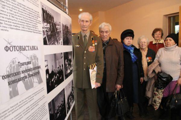 В основе экспозиции – 43 фотографии из личного архива ветерана ВОВ