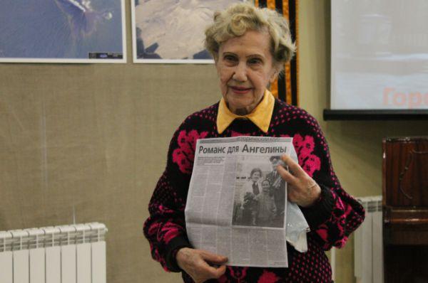 Ангелина Михайловна Санникова прошла через трудовой лагерь Аллендорф.