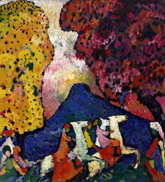 «Синяя гора», 1909