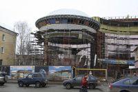 Детский космический центр активно строится.