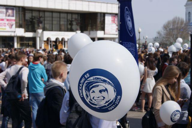 В Новосибирске отметили День космонавтики